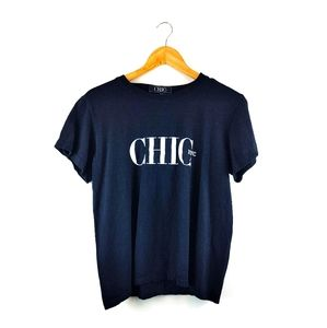 CHIC NYC RUNWAY | Chic NYC Black TShirt